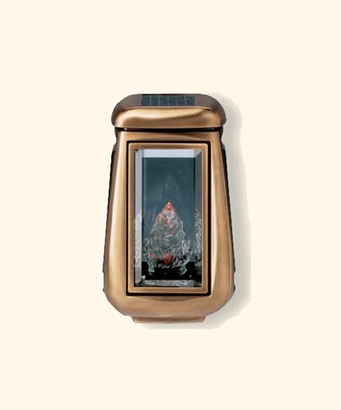 Lampada Votiva Con Pannello Solare : Lampade cimiteriali solari illuminazione votiva luci votive