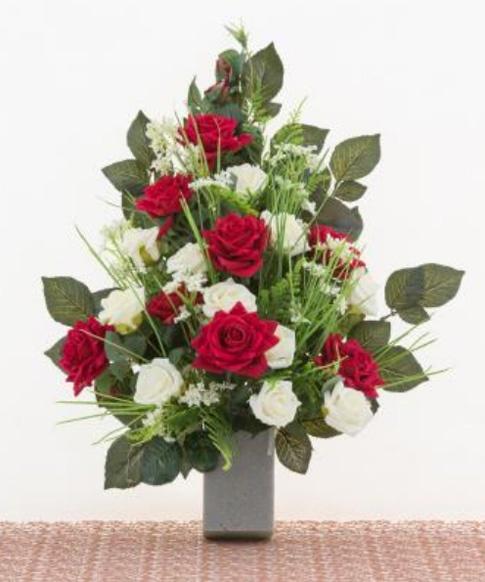 Fiori artificiali for Composizioni fiori finti per arredamento